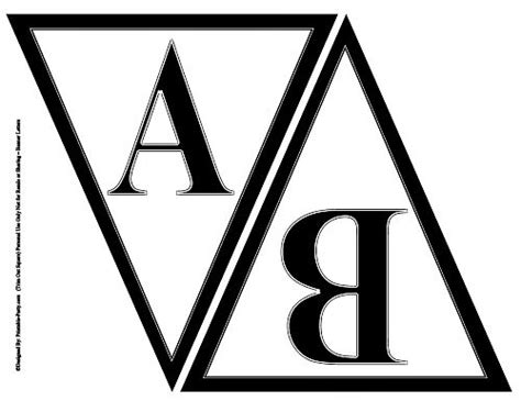 printable alphabet letters   letters   party