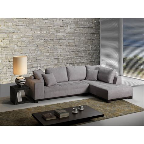 canap 233 convertible d angle couchage quotidien