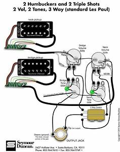 Seymour Duncan Wiring Colors  With Images