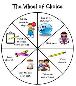 Conflict Resolution Worksheets Making Good Choices