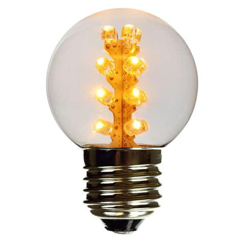 warm white led globe light bulb g50