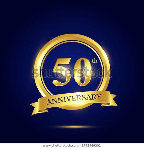 50th Anniversary Celebration Luxury Celebration Template