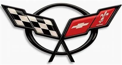 Corvette Emblem Clipart C5 Chevrolet Logos Chevy