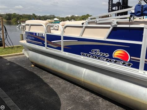 Tracker Pontoon Boats by Used Sun Tracker Pontoon Boats For Sale Page 5 Of 8