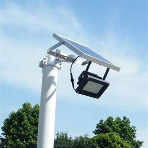 Solar powered led dusk to dawn sensor outdoor security
