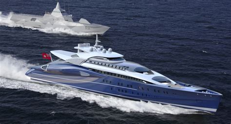 Fastest Boat In Knots by The Blohm Voss 110m Fast Luxury Motor Yacht