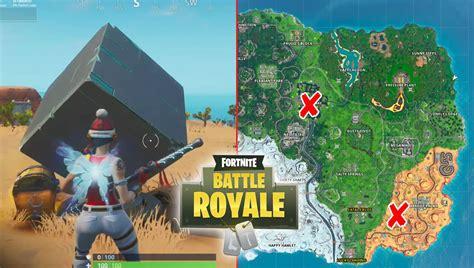 fortnite cube memorial locations game life