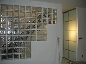 mur en brique de verre salle de bain top briques de verre With amazing carrelage gris couleur mur 11 mettons des briques de verre dans la salle de bains