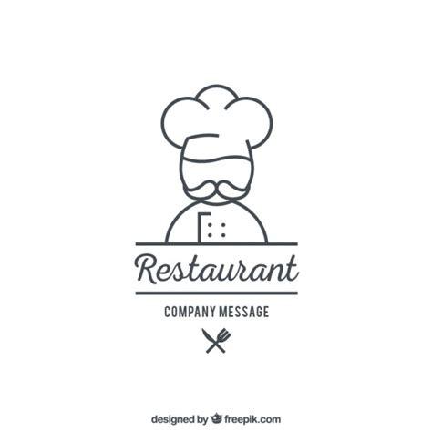 logo cuisine restaurant logo template vector premium