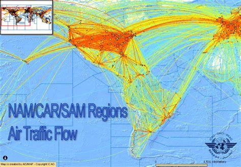 namcar regions air traffic flow