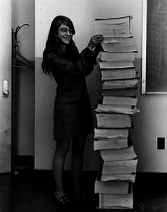 Margaret Hamilton, lead software engineer of the Apollo ...