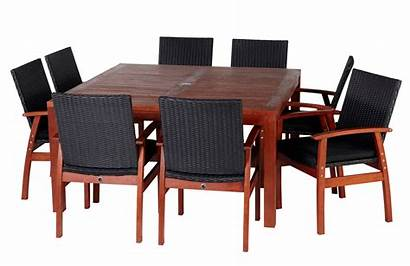 Outdoor Furniture Table Dining Transparent Chair Garden