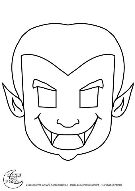 masque a colorier et a imprimer gratuit mondedespetitsimagescoloriage masque dracula masques colorier et non colorier