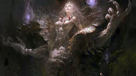 stunning series  fantasy art created  guangjian huang