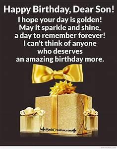 Happy Birthday Wishes For Dear Son Smitcreation Com