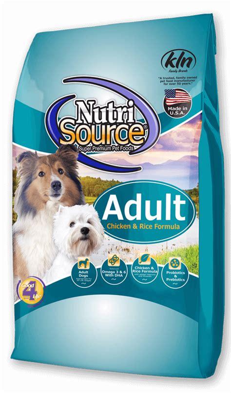 super premium dog food nutrisource pet foods