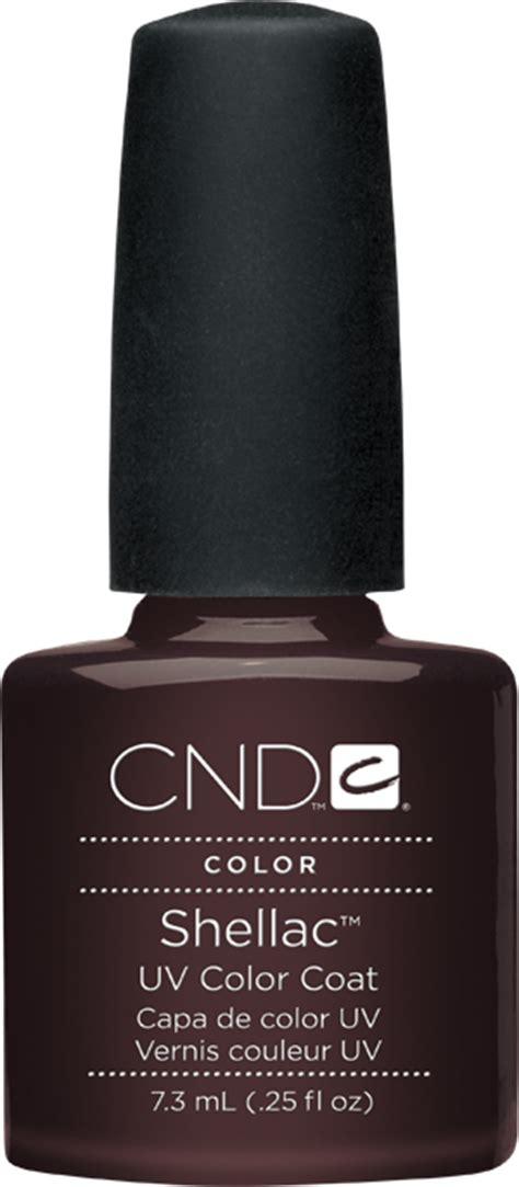 cnd led l 3c technology cnd shellac uv color coat fedora l gel nails
