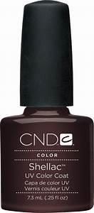 Cnd Shellac Uv Color Coat Fedora L Gel Nails Com