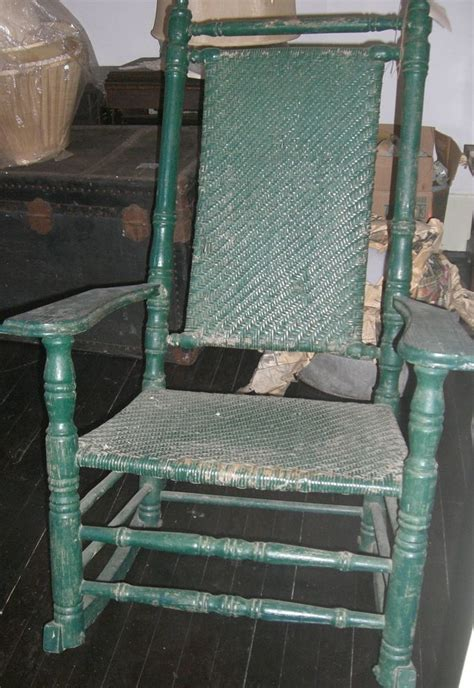 Jfk Rocking Chair History by Antique Porch Rocking Chair Wicker Rocker Kennedy Carolina