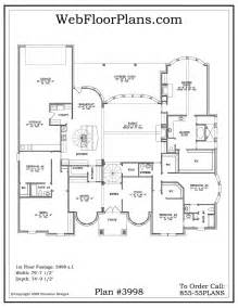 5 bedroom one story house plans best images about floor plans luxury house and 5 bedroom one story interalle