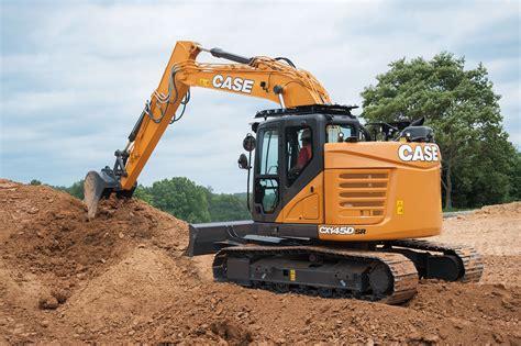 case minimum swing excavator public works magazine jobsite equipment case construction equipment