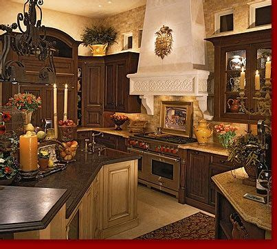 images  tuscan kitchen  pinterest arches