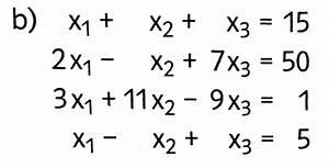 Matrix Kern Berechnen : matrix lgs l sungsmenge berechnen mit vier zeilen ~ Themetempest.com Abrechnung
