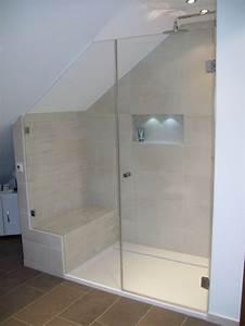 Glasscheibe Für Dusche : dusche in dachschr ge google suche bad pinterest ~ Lizthompson.info Haus und Dekorationen