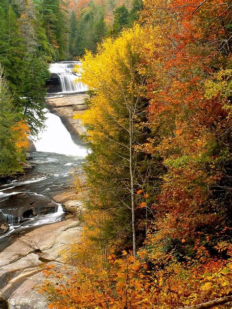 Triple Falls in Fall