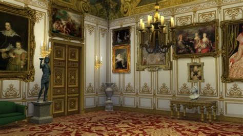 versailles wall paneling multistory  regal sims sims