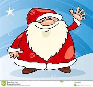Santa Claus Christmas Cartoon Illustration Stock Vector ...