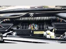 BMW e38 740il blower motor problem YouTube