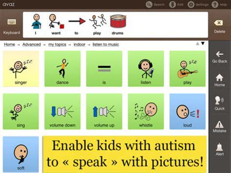 avaz aac app for autism augmentative picture 818 | 0