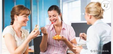 d駛euner au bureau déjeuner trop souvent au bureau fait grossir