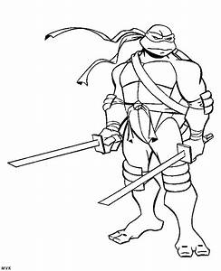 Ninja Turtle Coloring Pages - Coloring Home