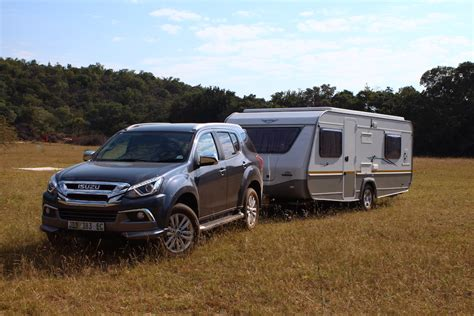 Isuzu Mux Photo by Tow Vehicle Isuzu Mu X Caravan Outdoor Magazine