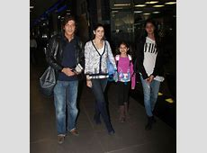 Chunky Pandey with family Snapped at Airport Photos Pics