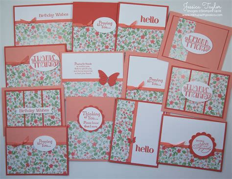 spring class ink    jessica card making ideas