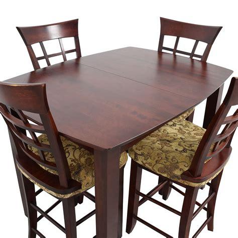 48% Off  High Top Dining Table With Four Chairs  Tables. L Shaped Office Desk Dimensions. School Front Desk Job Description. Hon Office Desk. Walking Desks. Cheap Desk Top Computers. Swing Arm Table Lamp. Lap Desk Amazon. Desk Organizer White