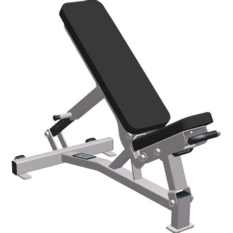 Bench Adjustable by Fitness Hammer Strength Multi Adjustable Bench