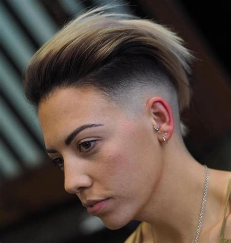 20 sassy and chic shaved hairstyles for women