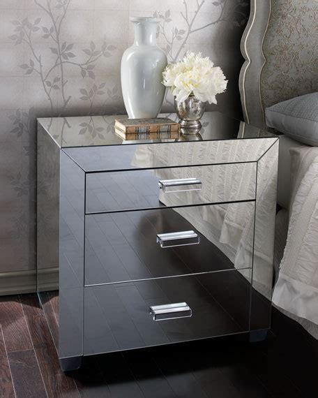 clairmonte mirrored nightstand