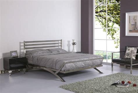 Luxury Stainless Steel Metal Bedroom Furniture