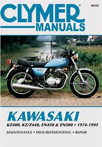 Kawasaki Kz400  Kz  Z440  En450 And En500 Motorcycle  1974