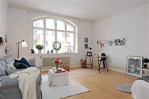 Wohnzimmer Scandi Style : scandinavian style in the living room ~ Frokenaadalensverden.com Haus und Dekorationen