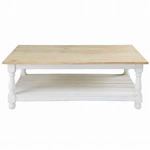 Table En Manguier : table basse en manguier rimini maisons du monde ~ Teatrodelosmanantiales.com Idées de Décoration