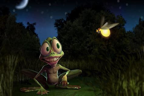 Free Animated Frog Wallpaper - animated pictures of frog best moving wallpaper