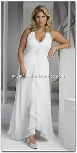 plus size beach wedding dresses With beach plus size wedding dresses