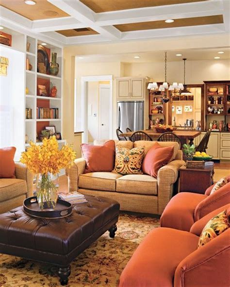Dark Brown Couch Decorating Ideas by 25 Best Ideas About Cozy Family Rooms On Pinterest Warm