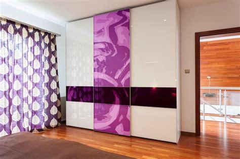 chambre violet et blanc chambre violette 20 idées décoration pour un chambre